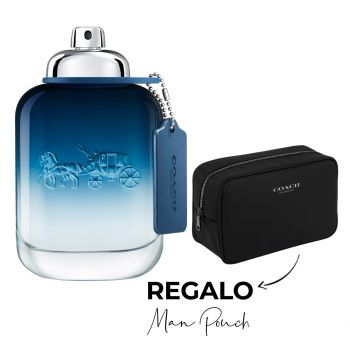 MAN BLUE EDT 100 ML + MAN POUCH