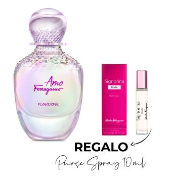 FLOWERFULL EDT 100 ML + PURSE SPRAY 10 ML