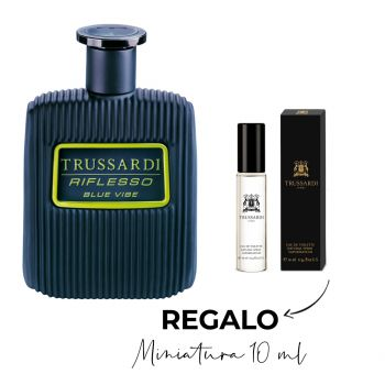 RIFLESSO BLUE VIBE EDT 100 ML + MINIATURA 10 ML
